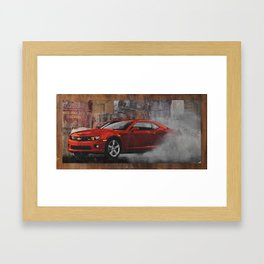 Smoke 'Em Framed Art Print