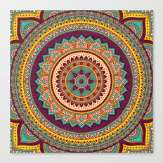 Hippie mandala 82 Canvas Print