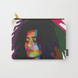 beautiful frizzy girl Carry-All Pouch