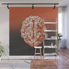 Puzzle brain GINGER / Your brain on puzzles Wall Mural