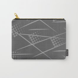 Gray abstract background. Grey Sport style Carry-All Pouch