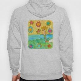 hang 10 groovy surf dude flower power Hoody