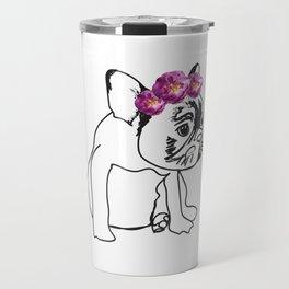 French Bulldog Puppy Travel Mug