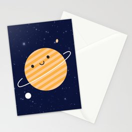 Happy Planet Stationery Cards