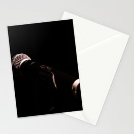 microphone Stationery Cards