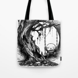 Tree Swing Tote Bag