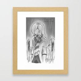 DNSEA_Rain Framed Art Print