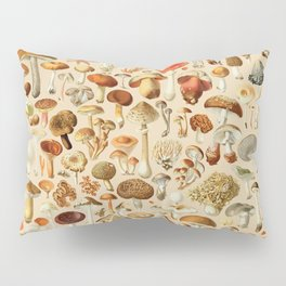 Vintage Mushroom Designs Collection Pillow Sham