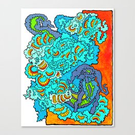 Other Worlds: Heads and Tails Canvas Print