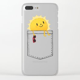 Pocketful of sunshine Clear iPhone Case