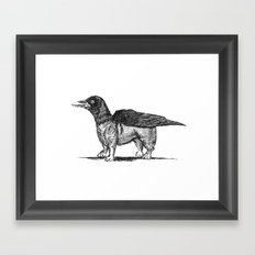 Crowgi Framed Art Print