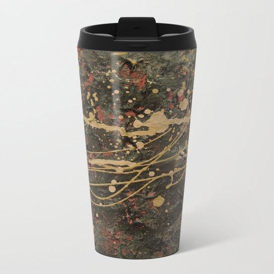 Universe Splatter Metal Travel Mug