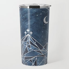 Night Court moon and stars Travel Mug