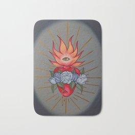 Sacred Heart Bath Mat