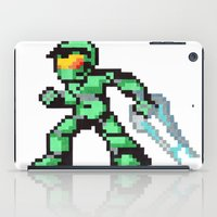 master chief iPad Cases featuring master chief by Walter Melon