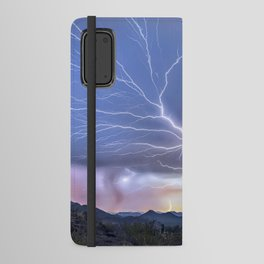 The Deluxe Arizona Monsoon Package Android Wallet Case