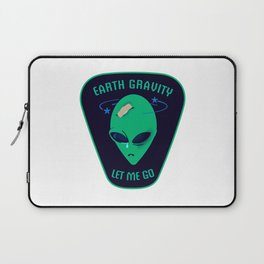 Earth gravity, let me go Laptop Sleeve
