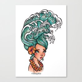 Aloha Wave Canvas Print