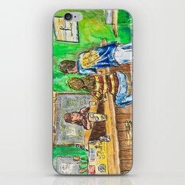 A Night At Point Ybel iPhone Skin