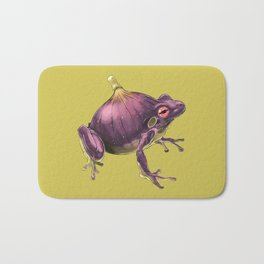 Ff - Frig // Half Frog, Half Fig Bath Mat