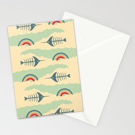 bittersweet pattern Stationery Cards
