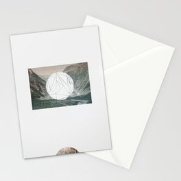A fine circle Stationery Cards