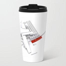 Malevich 3D [B&W] Travel Mug