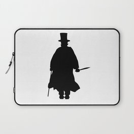 Jack the Ripper Silhouette Laptop Sleeve