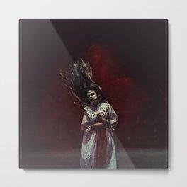 the ghost inside me Metal Print