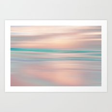 SUNRISE TONES Art Print
