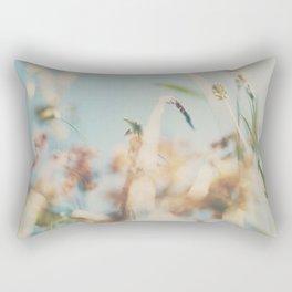 sweet sweet days of summer amongst the wild flowers ... Rectangular Pillow