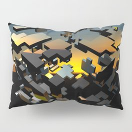3D Graphic by Leslie Harlow Pillow Sham