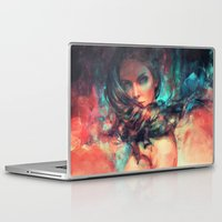alicexz Laptop & iPad Skins featuring Islands by Alice X. Zhang