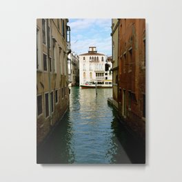 Canal (Venice, Italy) Metal Print