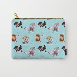 Zombie Cats Carry-All Pouch