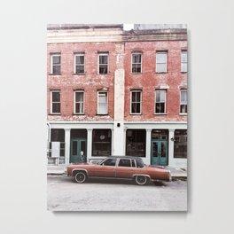 A Cadillac in Savannah Metal Print