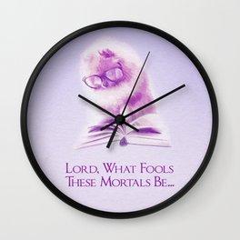 Fools -Illutrative- Wall Clock