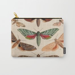Vintage Natural History Moths Carry-All Pouch