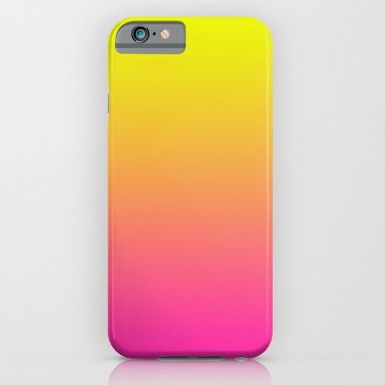 PINK & YELLOW FADE iPhone & iPod Case