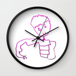 The Little Prince | Elisavet first drawing Wall Clock