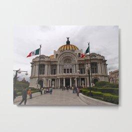 Palacio de Bellas Artes  Metal Print