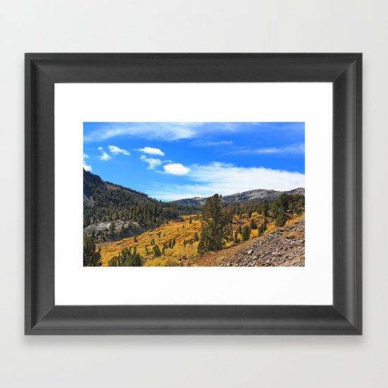 Mt Rose Framed Art Print