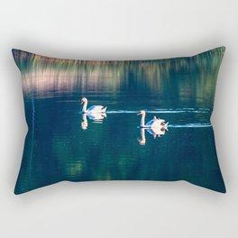 Swan family Rectangular Pillow