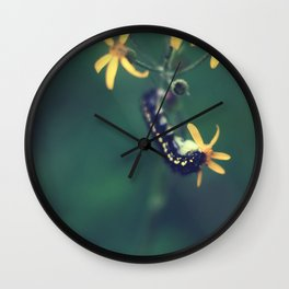 Life Is About Creating Yourself Wall Clock