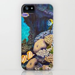 The Gathering - Coral Reef iPhone Case