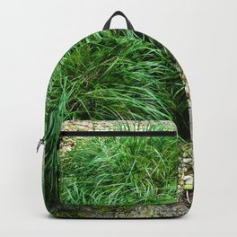 Decorative Grass Backpack
