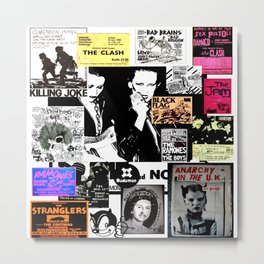 Punk Rock Heritage Metal Print