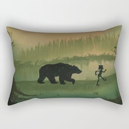 The Jungle Book by Rudyard Kipling Rectangular Pillow