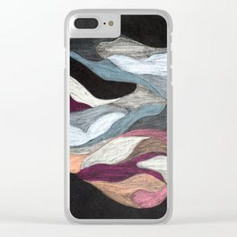 Metallic Clear iPhone Case