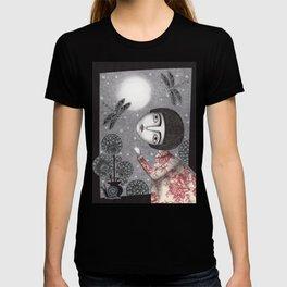 Night Sky. Dragonfly. T-shirt
